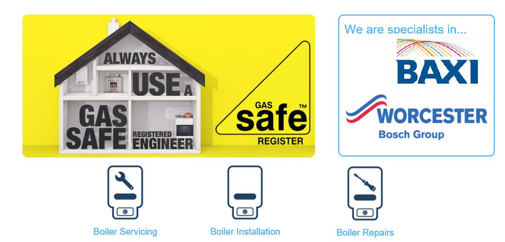boiler installation, repairs & Service
